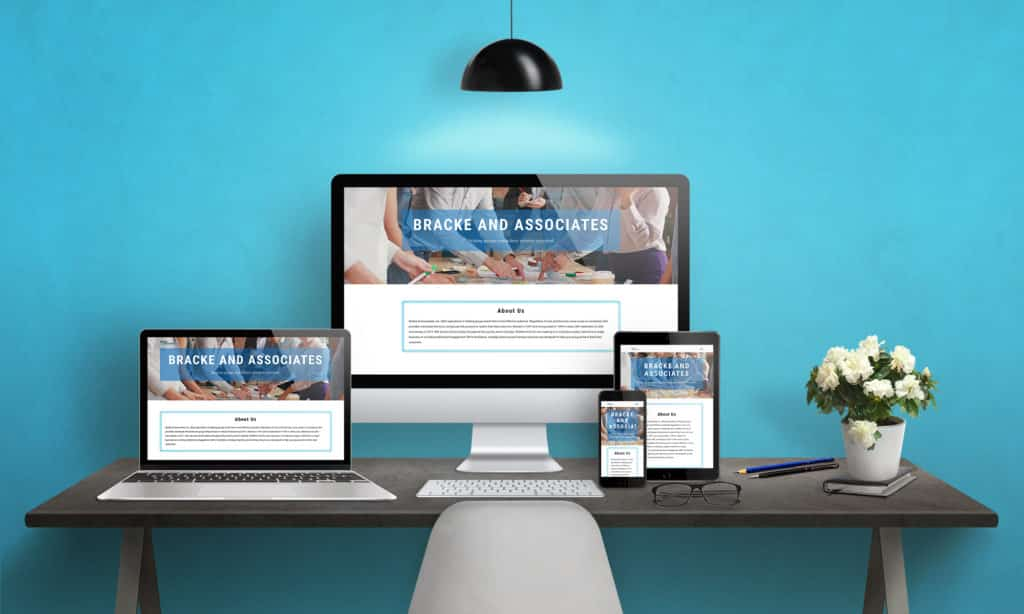 Bracke and associates web design, small business marketing