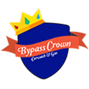 bypass crown car wash logo